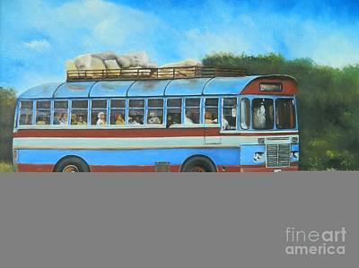 Island Bus Original by Kenneth Harris