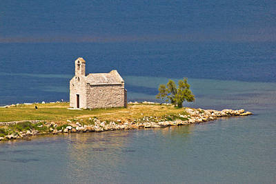 Photograph - Island Church By The Sea by Brch Photography