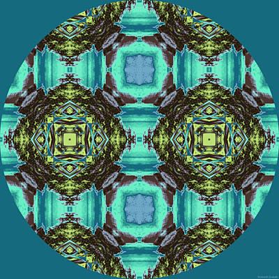 Islands Digital Art - Island Circle 2 by Kenneth Grzesik
