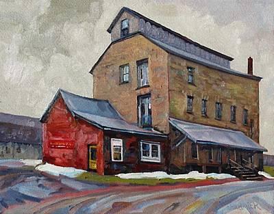 Island City Mill Original by Phil Chadwick