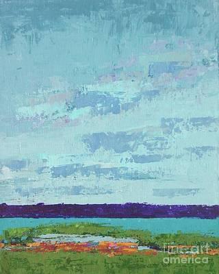 Island Estuary Art Print