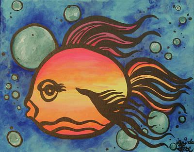 Island Fish Art Print by Lorinda Fore