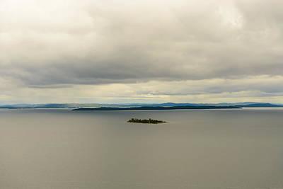 Anchor Down - Island Georgian Bay Ontario Canada by Marek Poplawski