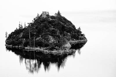 Island In A Lake Art Print by Celso Diniz