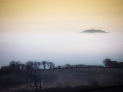 Photograph - Island In The Irish Mist by James Truett