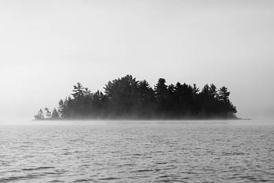 Island In The Mist Art Print by Steven Clipperton