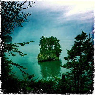 Photograph - Island In The Storm by Randy Green