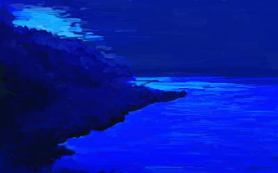 Eerie Painting - Island by Kume Bryant
