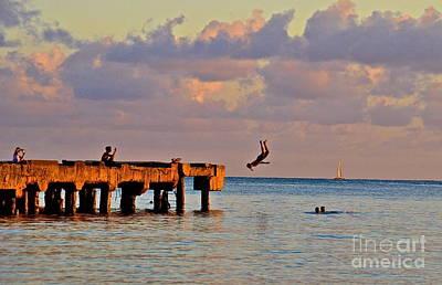 Backflip Photograph - Island Life by Brad Pennock