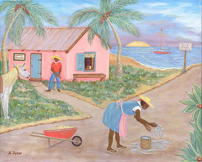 Painting - Island Life by Nancy Taylor