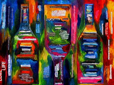Painting - Island Life by Patti Schermerhorn