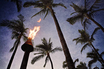 Torch Photograph - Island Light by John Hamlon