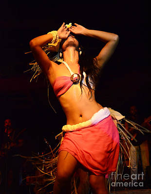 Ancient Dances Photograph - Island Dancer Easter Island 4 by Bob Christopher