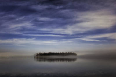 Thawing Time Photograph - Island by Ludwig Riml