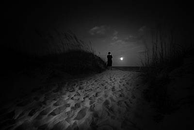 Photograph - Island Moon  by Gray  Artus