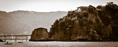 Photograph - Island Of Boa Viagem In The City Of Niteroi by Celso Diniz