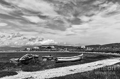 Photograph - Island Of Delos Mono by John Rizzuto