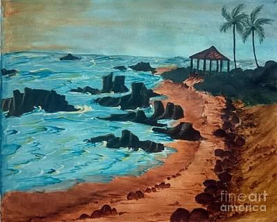 Island Of Dreams Art Print by KarishmaticArt -  Karishma Desai