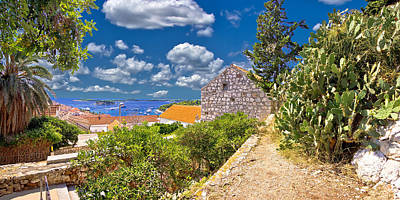 Photograph - Island Of Hvar Coast View by Brch Photography