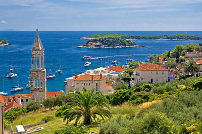 Photograph - Island Of Hvar Nature And Architecture by Brch Photography