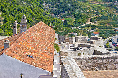 Photograph - Island Of Hvar Old Fortress by Brch Photography