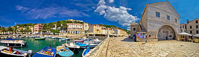 Photograph - Island Of Hvar Old Waterfront by Brch Photography