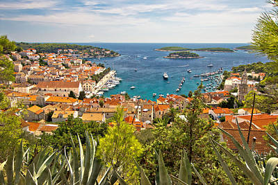 Photograph - Island Of Hvar Scenic Coast by Brch Photography