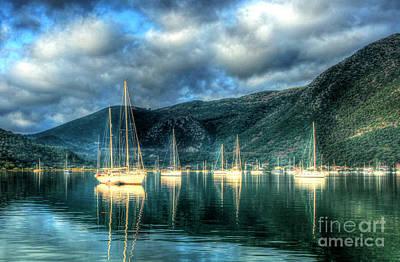 Lefkada Photograph - Island Of Lefkada by Linda Arnado