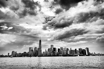 Island Of Manhattan 2013 Art Print by John Rizzuto