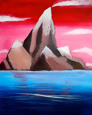 Painting - Islands Hawaii by Joshua Maddison
