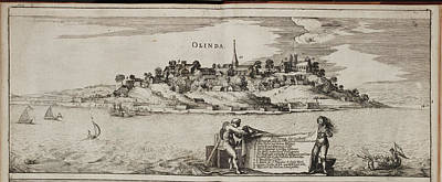 Theodor De Bry Photograph - Island Of Olinda Off The Coast Of Brazil by British Library