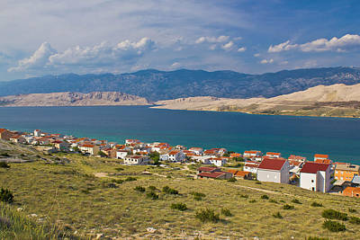 Photograph - Island Of Pag Bay Seascapes by Brch Photography