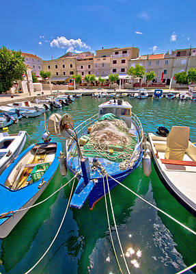 Photograph - Island Of Pag Idyllic Harbor by Brch Photography