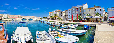 Photograph - Island Of Pag Waterfront Panorama by Brch Photography