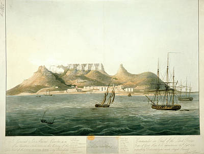 Watercolour Photograph - Island Of Saint Helena by British Library