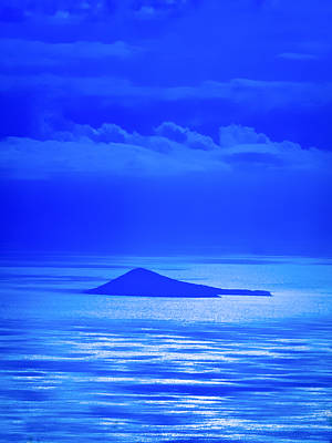 Blue Ocean Photograph - Island Of Yesterday by Christi Kraft