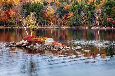 Photograph - Island On Raquette Lake In The Adirondacks by Denise Bush