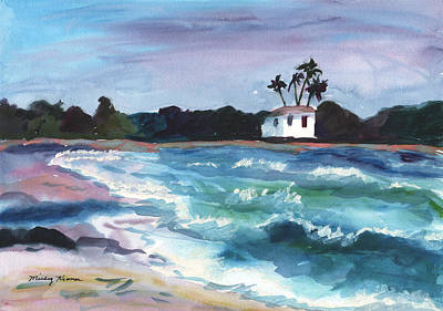 Painting - Island Paradise by Mickey Krause