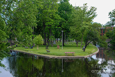 Photograph - Island Park by Grace Grogan