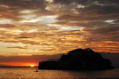 Island Resort At Sunset-4 Original