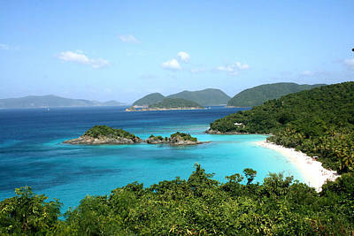 Photograph - Island Shore Trunk Bay by Sharon McLain