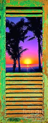Island Shutter Art Print