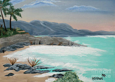 Painting - Island Solitude by Brenda Brown