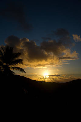 Sky Photograph - Island Sunrise by Jared Shomo