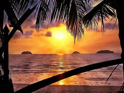 Photograph - Island Sunset by Ian Gledhill