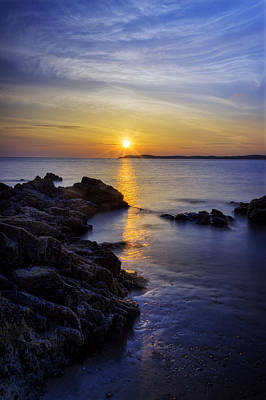 Photograph - Island Sunset by Ian Mitchell