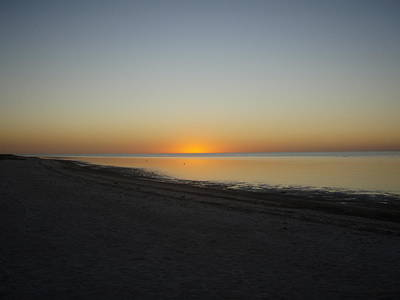 Art Print featuring the photograph Island Sunset by Robert Nickologianis