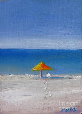 Painting - Island Time by Fred Wilson