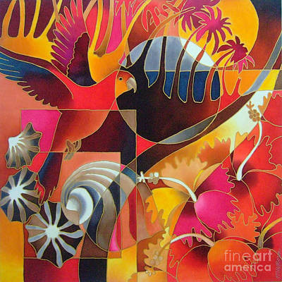 Painting - Island Treasures II by Maria Rova
