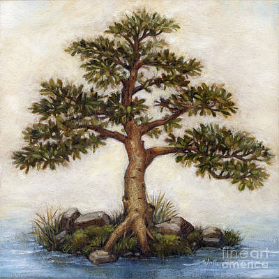 Painting - Island Tree by Randy Wollenmann